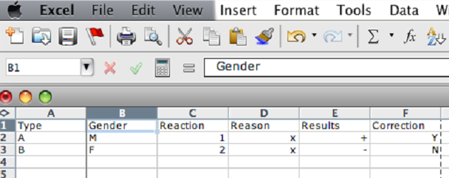 Freeze a column in Microsft Excel - 1