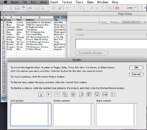 how to put a section break in word 2010
