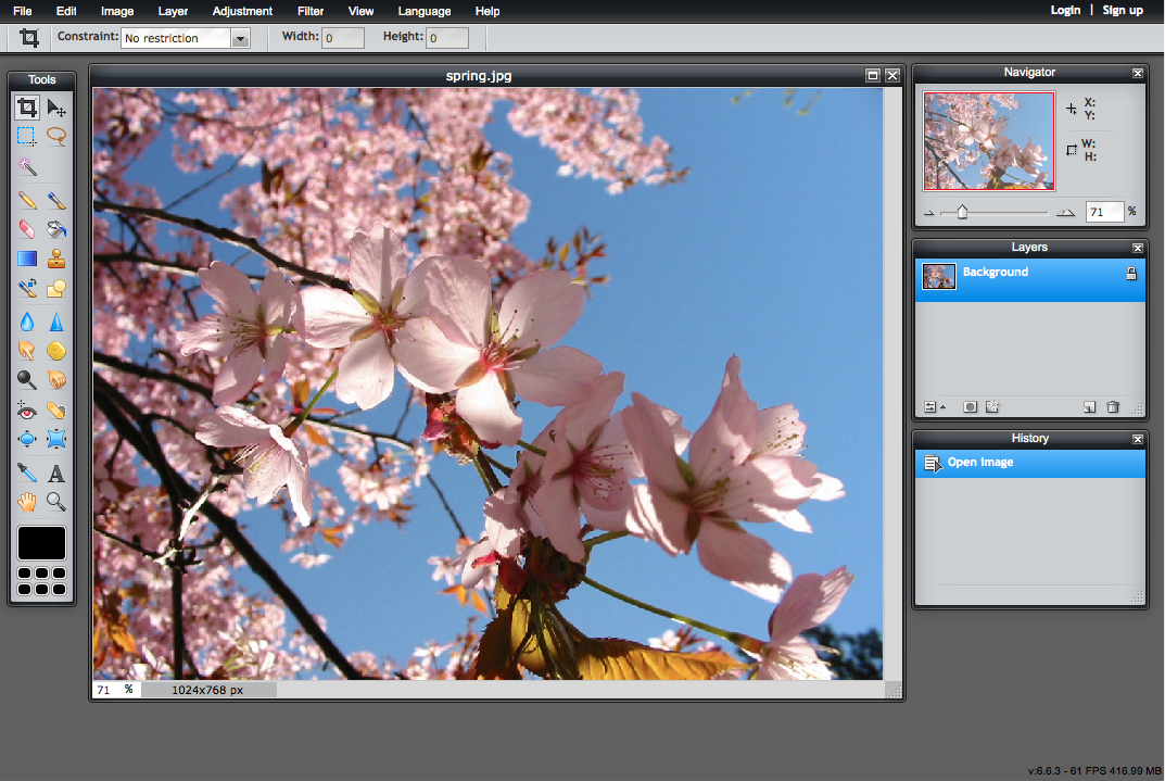 Pixlr Review Online Photo Editor Learnthat Com Free Tutorial
